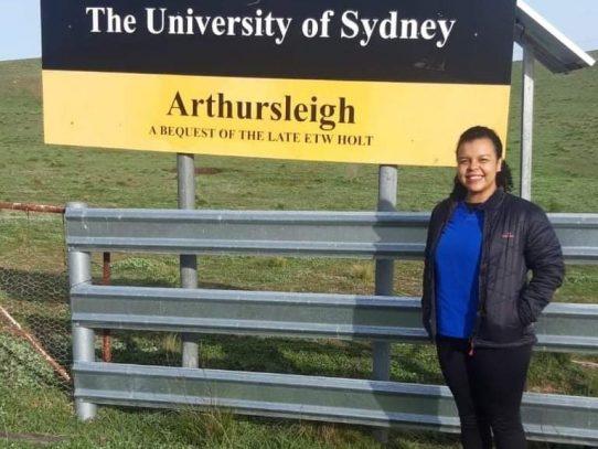 Se otorgó premio en Australia a una médico veterinaria panameña