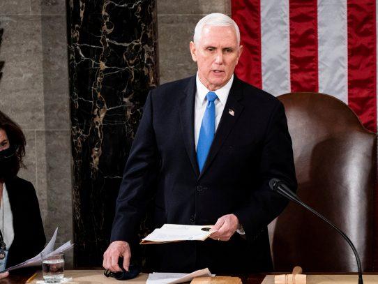 El día que Mike Pence se hartó de Trump