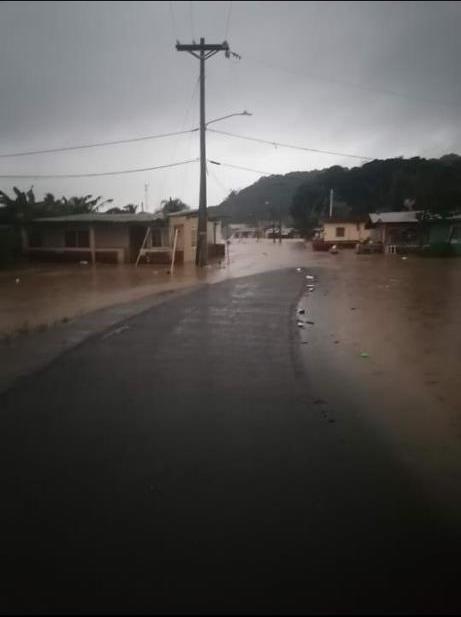 Frente frío ha causado daños en comunidades de la Costa Arriba de Colón