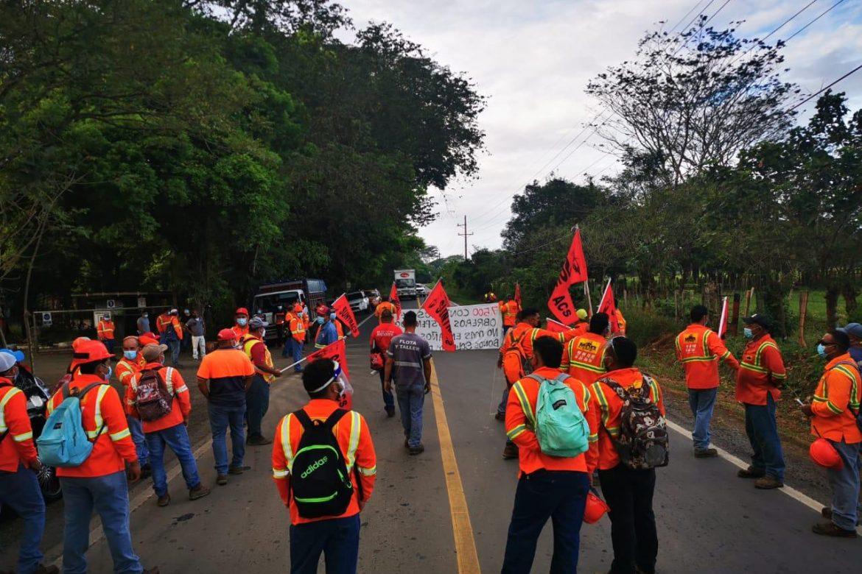 Suntracs pide a sus trabajadores retornar a sus puestos de trabajo mañana