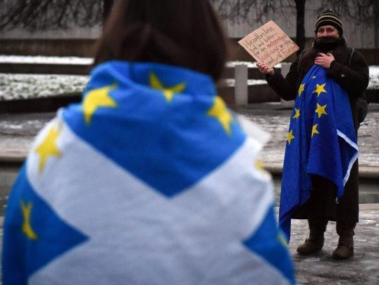 """Escocia espera """"regresar"""" a la UE como nación independiente tras el Brexit"""