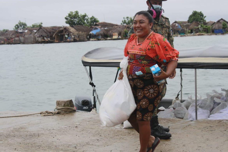 Comarcas indígenas han recibido cerca de 500 mil bolsas de alimentos del Plan Panamá Solidario