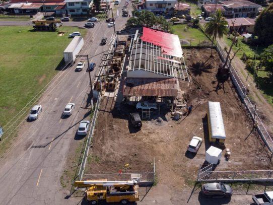 Avanza restauración de antigua estación del ferrocarril en La Concepción