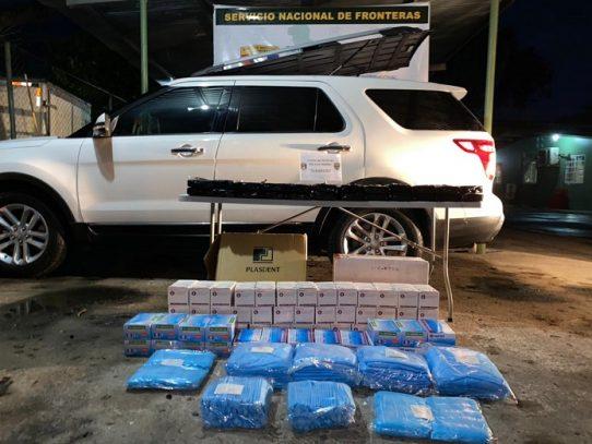 Decomisan 70 paquetes con droga en Chiriquí