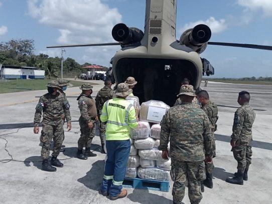 """""""Mercurio Dos"""" lleva ayuda humanitaria a Darién"""
