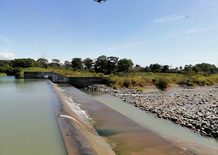 Iniciará rehabilitación de sistema de riego de Alanje en beneficio de cientos de productores