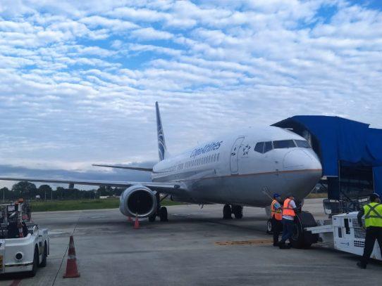 Mejoras de la plataforma del aeropuerto de David alcanza un 35% de avance