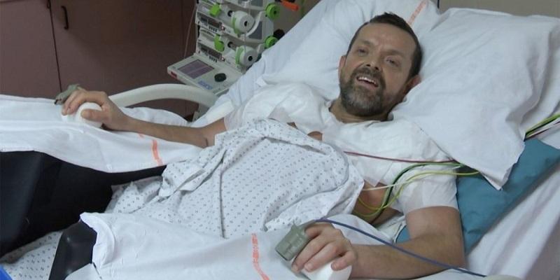"""""""Me gustan mis manos"""", afirma paciente islandés que recibió doble trasplante de brazos en Francia"""