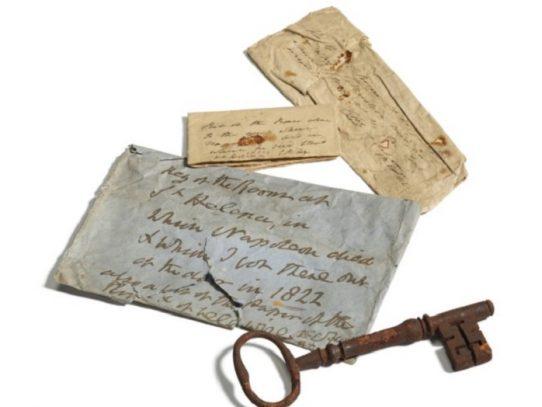 Subastada la llave de la prisión donde murió Napoleón por 112.000 dólares
