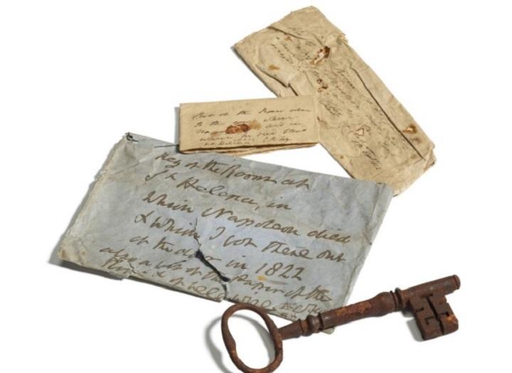 Sacan a subasta en Reino Unido la llave de la prisión donde murió Napoleón