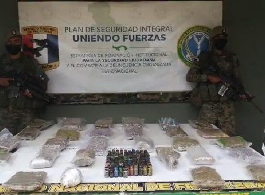 Un total de 29 paquetes con narcóticos fueron confiscados en Gun Yala