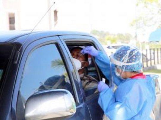 Durante su apertura el centro de hisopado en Arraiján realiza 124 pruebas