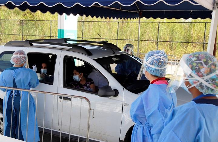 Nuevo centro de hisopados reforzará capacidad contra la COVID-19 en Panamá Oeste