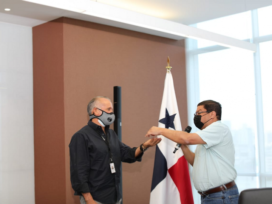 MiCultura entrega las llaves para la restauración de la Aduana de Portobelo