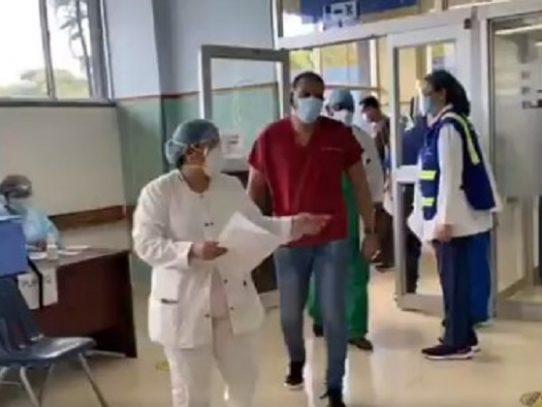 OPS pondera reducción de hospitalizaciones por Covid-19 en Panamá