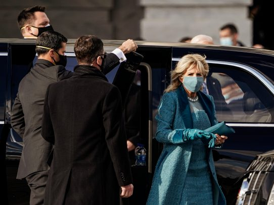 La doctora Jill Biden seguirá dando clases, desde la Casa Blanca