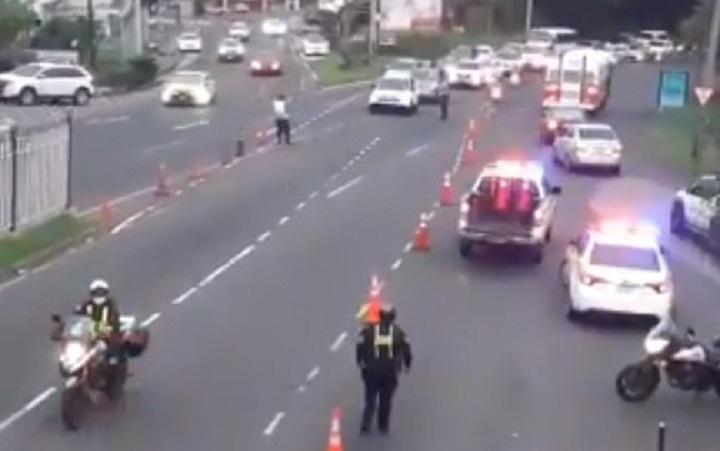 Suspenden los operativos de inversión de carriles en Panamá y Panamá Oeste