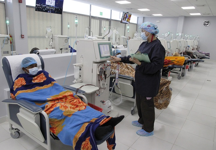 Minsa instala 22 nuevas máquinas de hemodiálisis en Coclé