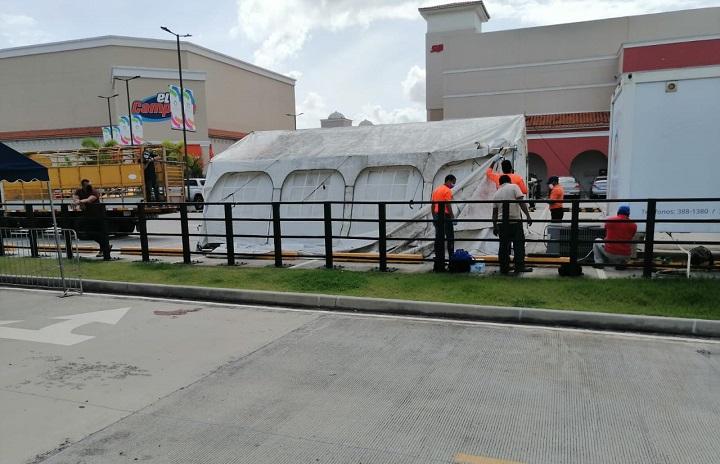 Inician adecuaciones en auto rápido de hisopados en Panamá Oeste