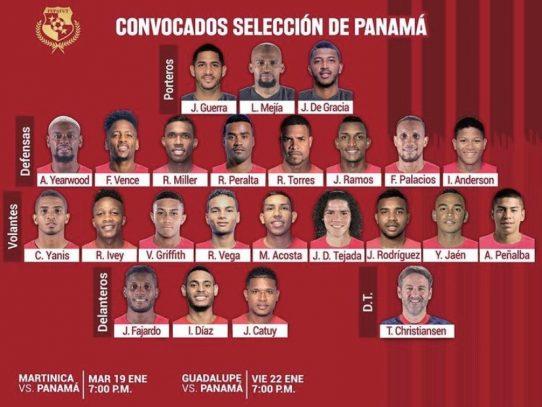 Jugadores del patio convocados para juego ante Martinica y Guadalupe