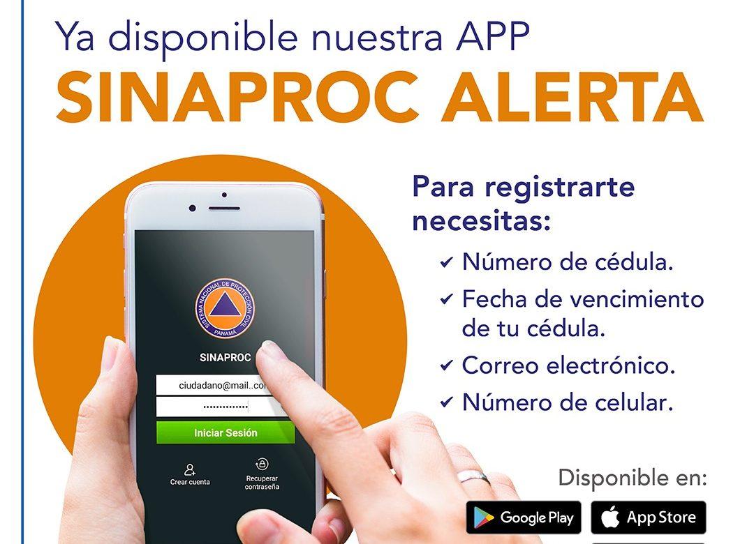 Sinaproc Alerta: nueva aplicación móvil de emergencias y geolocalización