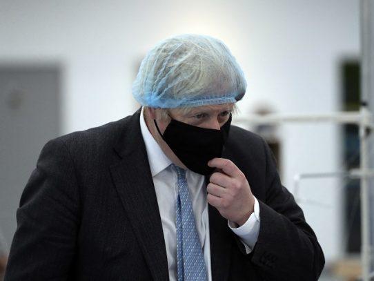 Johnson reclamará más unidad contra el covid-19 en reunión del G7