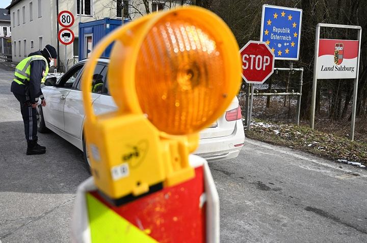 Gigantesco atasco en la frontera entre Italia y Austria por controles anticovid