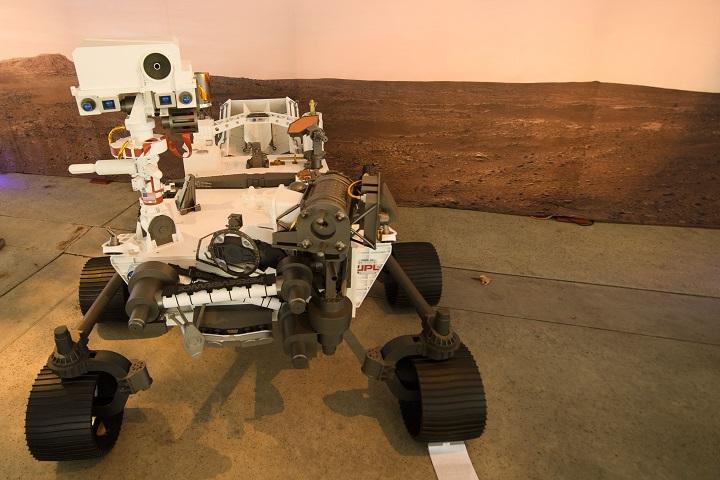 La SuperCam que va a estudiar Marte en búsqueda de rastros de vida pasada