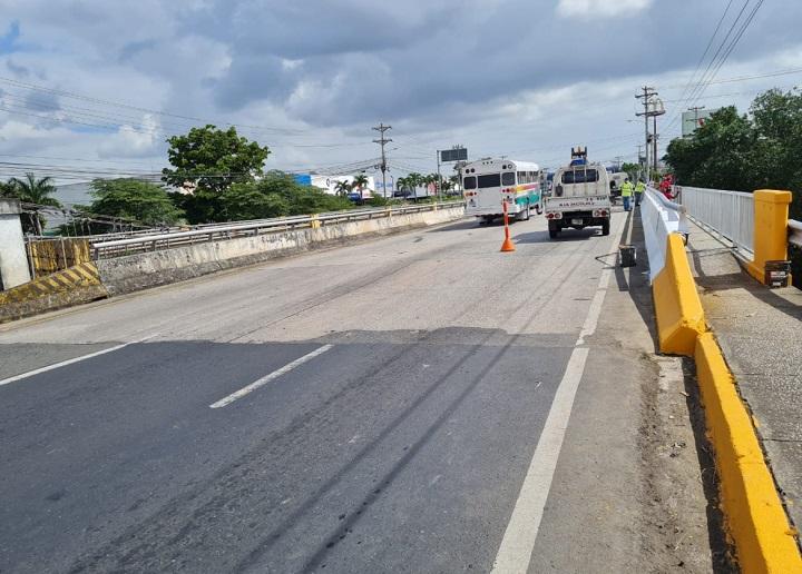 Este fin de semana habrá un cierre total del puente sobre el río Juan Díaz