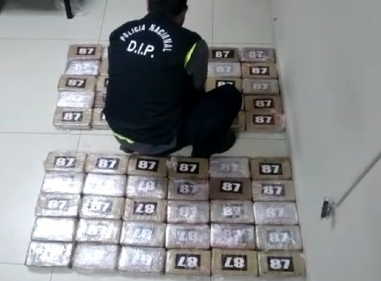 Decomisan 60 paquetes con droga en el Aeropuerto Internacional de Tocumen