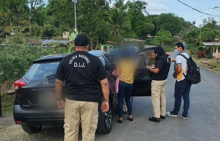 Aprehenden a tres presuntos secuestradores en Pacora