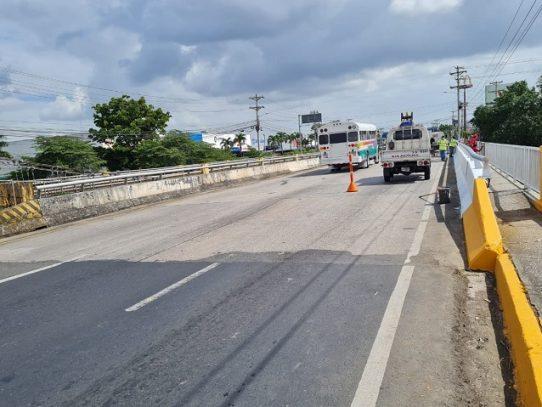 Cierre total del puente sobre el río Juan Díaz del 26 de febrero al 1 de marzo
