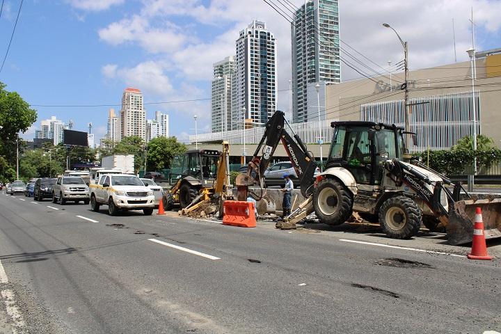 Cierre parcial de la vía Israel por trabajos de reparación de carpeta asfáltica este sábado 6 de febrero