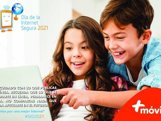 +Móvil conmemora el Día de la Internet Segura, enfocada en trabajar por una mejor internet para las nuevas generaciones
