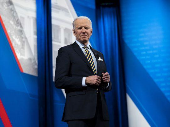 Biden muestra su voluntad reformadora ante el Congreso de EEUU