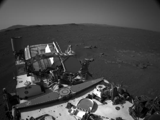 NASA difunde primer audio de Marte y el primer video de llegada de Perseverance