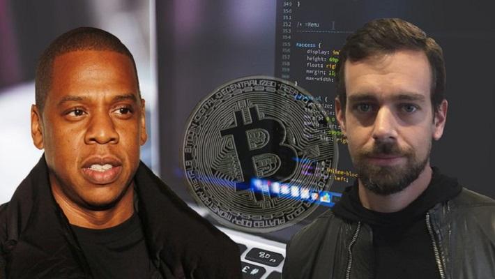 El jefe de Twitter y el rapero Jay Z pretenden convertir a bitcóin en la moneda de Internet
