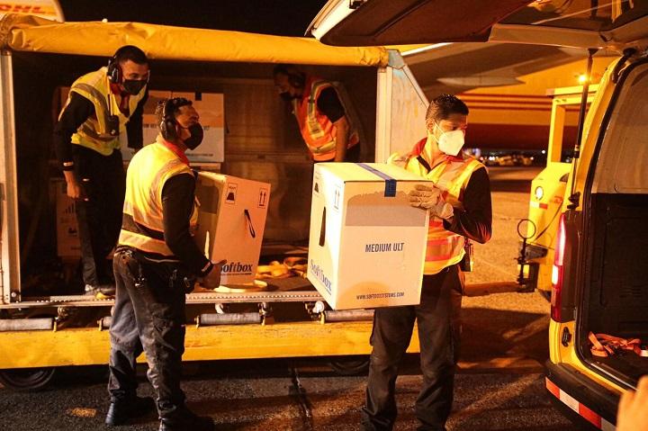 Llegan a Panamá 67,860 nuevas dosis de vacunas contra Covid-19