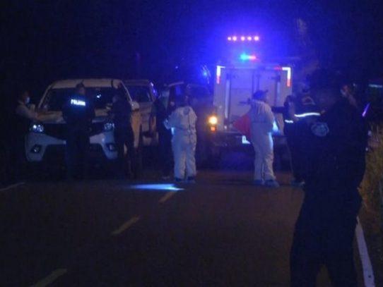 Triple homicidio en el distrito de La Chorrera