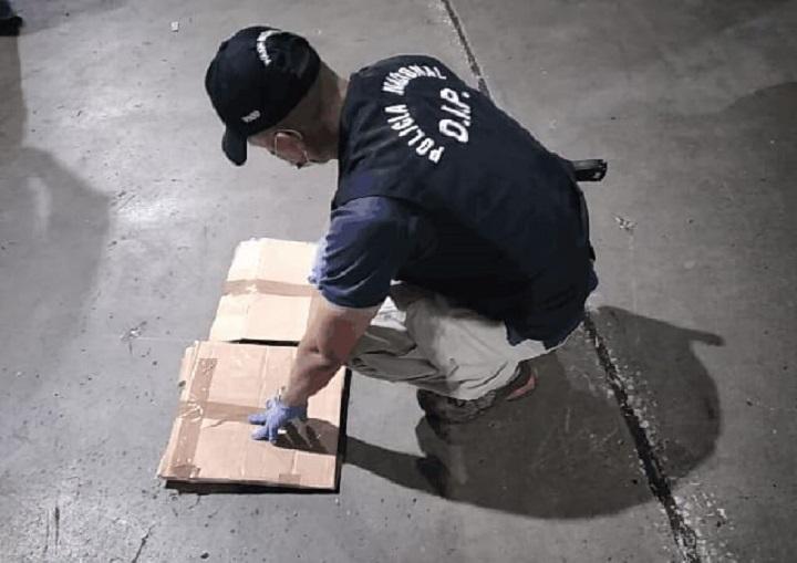 Organización criminal enviaba droga a través de plataformas logísticas