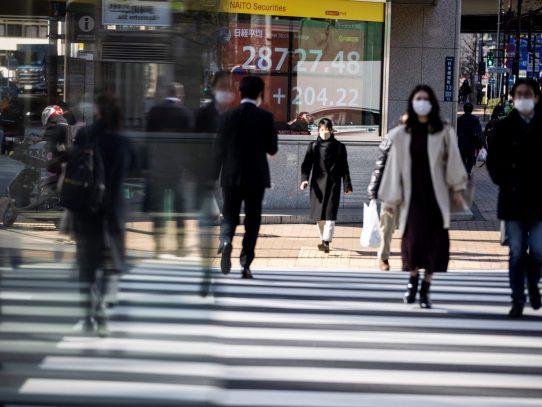 El Nikkei de Tokio cayó 3% tras las pérdidas en Wall Street