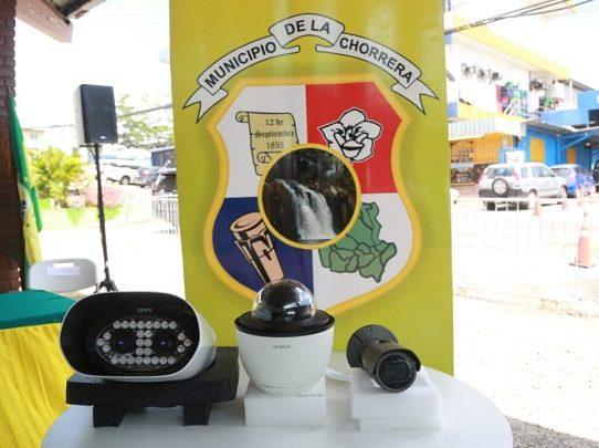 La Chorrera contará con un centro de operaciones de videovigilancia