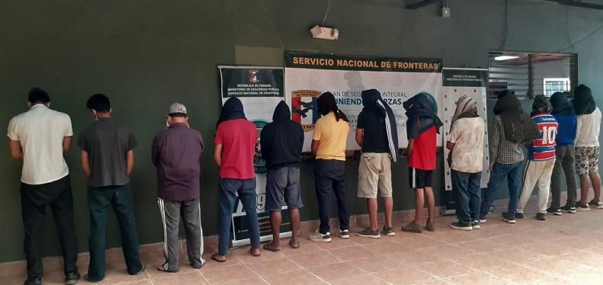 Senafront detecta tráfico de migrantes y decomisa sustancia ilícita en Darién