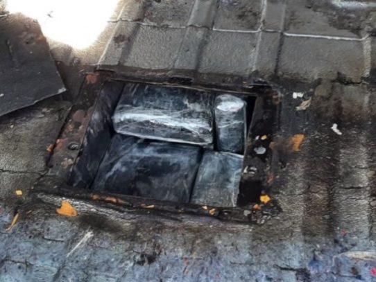 Decomisan 70 paquetes con sustancia ilícita en San Isidro, Chiriquí
