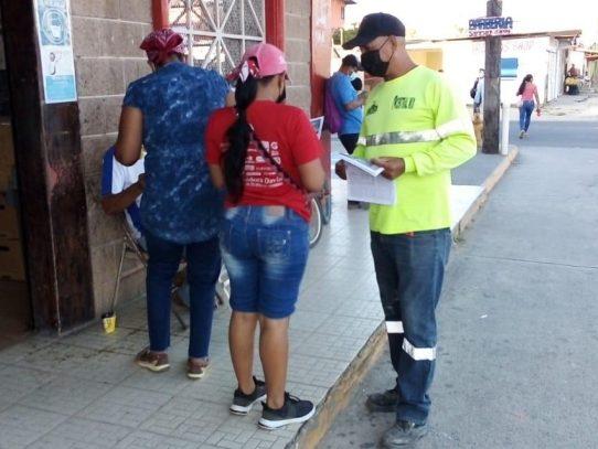 Trabajadores mantienen movilizaciones en las calles de la capital y el interior del país