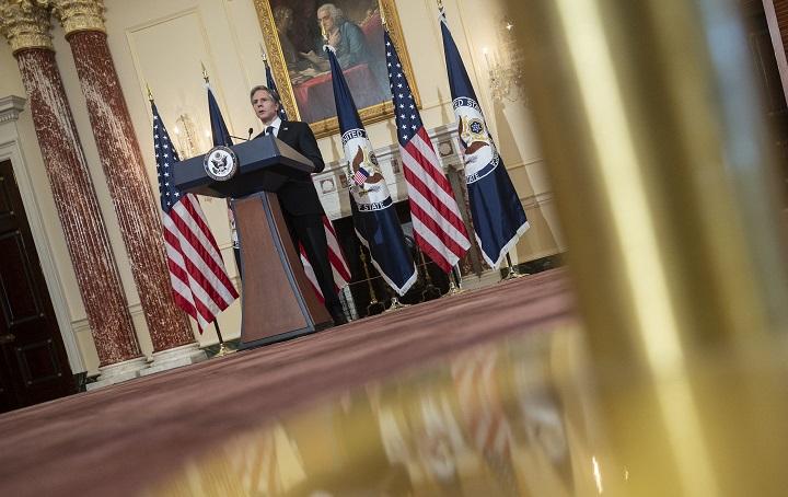 """Blinken promete enfrentar a China, """"la mayor prueba geopolítica"""" del siglo"""