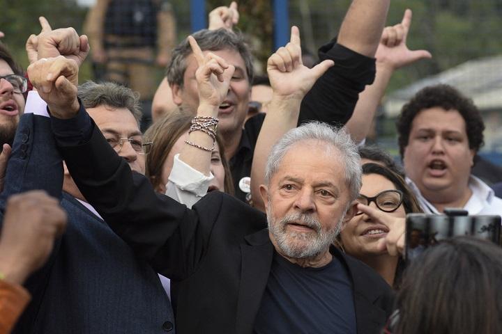 Juez de la corte suprema de Brasil anula todas las condenas de Lula
