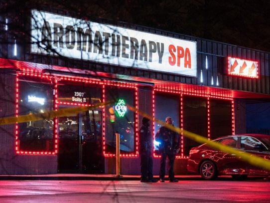 Ocho muertos en tiroteos en salones de masaje de EE.UU.