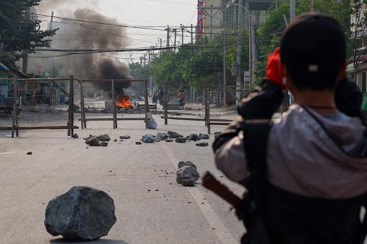 Al menos 19 muertos en nueva jornada de represión de manifestaciones en Birmania