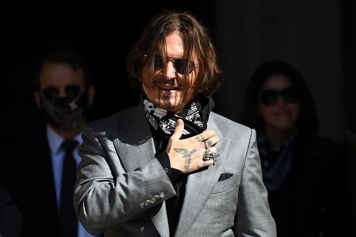 Justicia británica rehúsa a Johnny Depp apelación contra diario por difamación
